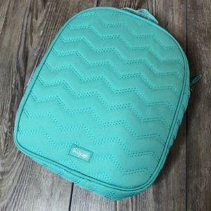 Thirty-One Chill-licious teal thermal lunch tote